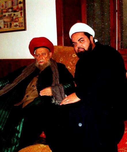 Sayyid Ahmed Amiruddin with al-Ghawth Mawlana Shaykh Nazim Adil al-Haqqani