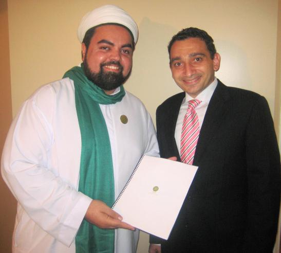 Saudi born Hon. Omar Alghabra, MP (08), Pres., Canadian Arab Federation