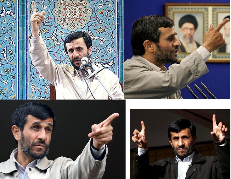 Ahmadinejads Satanic Hand Gestures Sayyid Ahmed Amiruddin