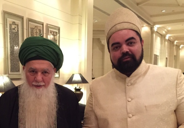 Mawlana Shaykh Hisham visiting Sayyid Amiruddin in Hyderabad