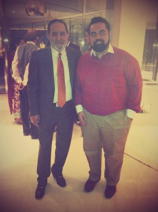 With H.E. Pir Salman Gailani, grandson of Naqib al-Ashraf Pir Syed Ibrahim Saif al-Din al-Jilani.