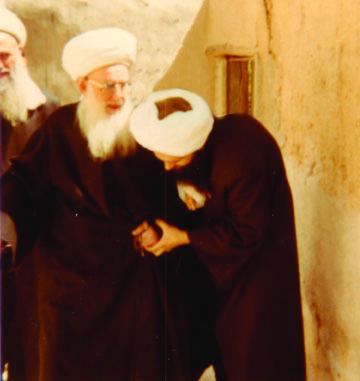 Mawlana Shaykh Nazim, Mawlana Shaykh 'Abd Allah Daghestani with Shaykh Hisham Kabbani