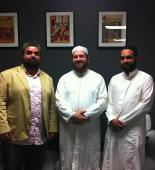 Dr. Shaykh Sayyed Muhammad bin Yahya Al-Husayni Al-Ninowy at the ASFC Spiritual Wellness Centre on the night of the 15th of Shabaan