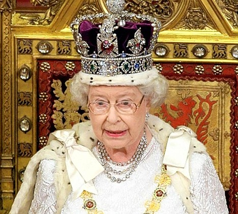 Her Majesty Queen Elizabeth II, Defender of the Faith and Supreme Governor of the Church of England, Queen of Canada by Divine RIght