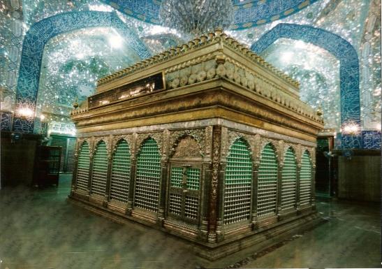 Tomb of Shah i-Mardan Hz. 'Ali ibn Abi Talib (alalihi salam).