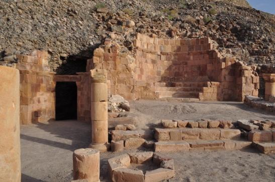 Kahf Lut (as): the Cave of Prophet Lot, Jordan.