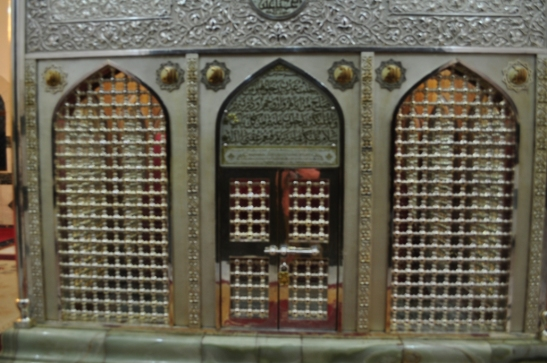 "Tomb of my uncle Ja'far ibn Abi Talib (elder brother of Imam 'Ali ibn Abi Talib), Jordan. Ja'far ibn Abi Talib was given the title ""Ja'far Tayyar"", meaning Ja'far of the Two Wings. Ja'far Tayyar was instrumental in converting the Emperor of Ethiopia to Islam before the Hijra."