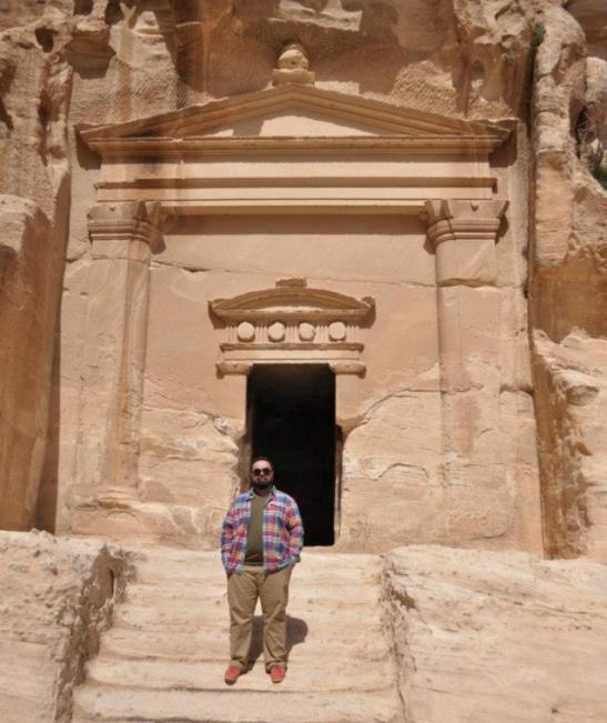 Outside Little Petra.