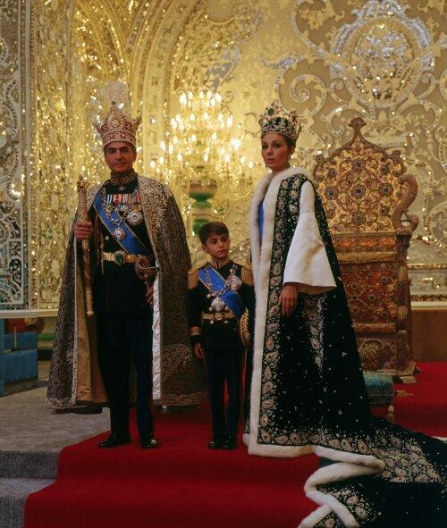 1967 Coronation of Shah Mohammad Reza Pahlavi, son of Reza Shah