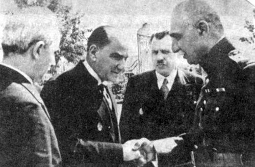 With Mustafa Kemal Ataturk