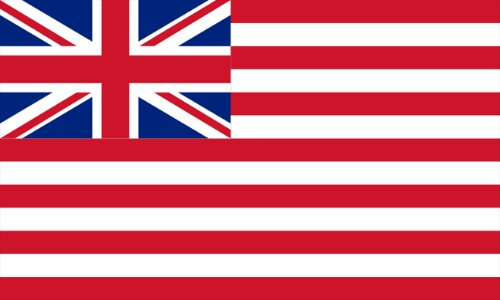 Flag of the British East India Company in the 1800's