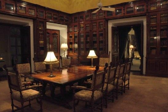 Inside Falaknuma Palace