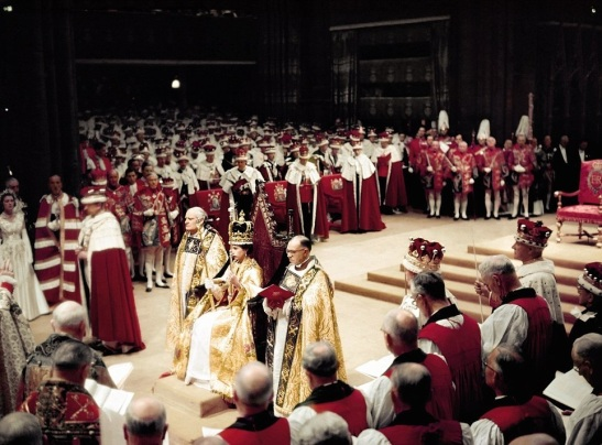 The coronation of Queen Elizabeth II as monarch of the United Kingdom, Canada, Australia, New Zealand, South Africa, Ceylon, and Pakistan took place on 2 June 1953. The Monarchy of Pakistan (the Pakistani monarchy) was the system of government in which a hereditary monarch was the sovereign of the Dominion of Pakistan from 1947 to 1956, when it was abolished.