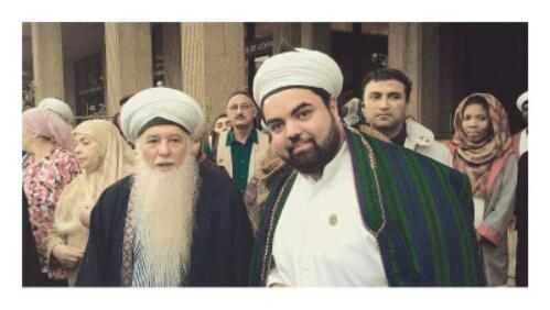 Sayyid Ahmed Amiruddin with Shaykh Hisham Kabbani-2013