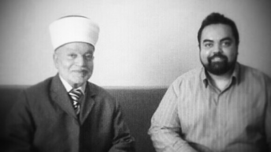 H.E. al-Sayyid Muhammad AM Hussein, Grand Mufti of Jerusalem, Grand Imam of Al Aqsa Mosque, Palestine-June 2014