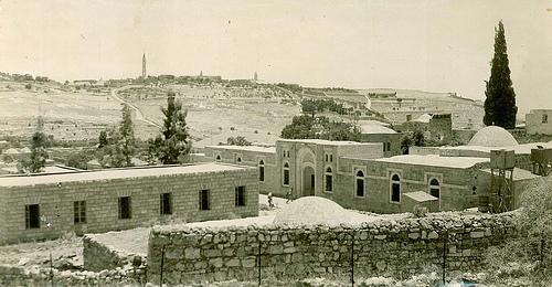 A View of Zawiyah Hindiyyah, 1945. © Ahmad al-Ansari.