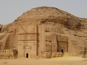 Nabatean buildings from Petra, Jordan to Madain Saleh, KSA built by Arab kings