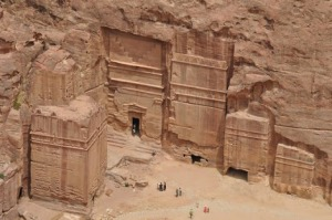 Nabatean buildings from Petra, Jordan to Madain Saleh, KSA built by Arab kings.