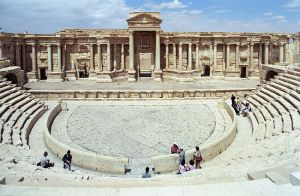 Palmyra, Damascus, Syria, built by the Nabatean Arab Queen Zaynab (Zenobia).