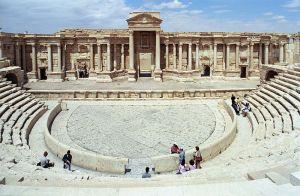 Palmyra, Damascus, Syria, built by the Nabatean Arab Queen Zaynab (Zenobia).